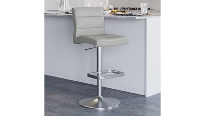 Lush Grey Bar Stool