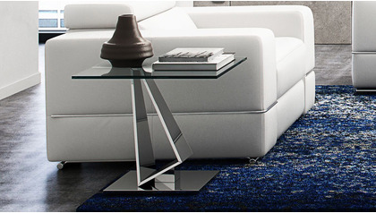 Serra End Table - Clear
