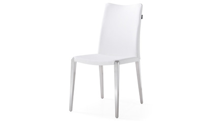 Jordan Dining Chair - Brushed Stainless