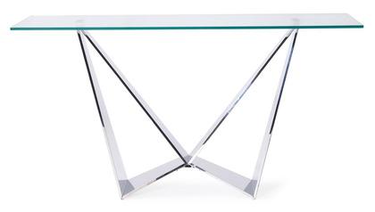 Serra Console Table - Clear