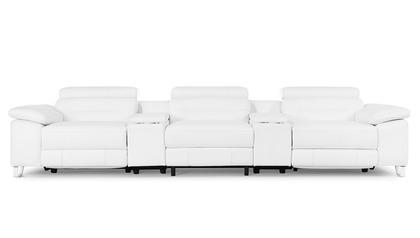 Monaco Reclining Sofa with Consoles