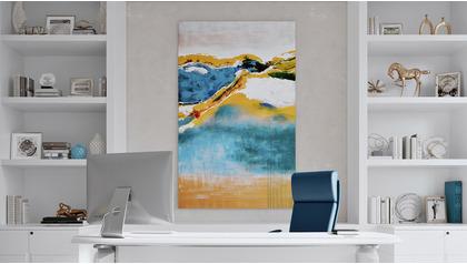 """Oceanfront View Canvas Art - 80"""" x 50"""""""