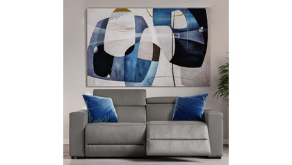 "Reflecting Horizons Canvas Art - 96"" x 70"""