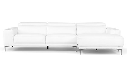 Rousso Sectional - White