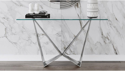 Serra Console Table - Clear