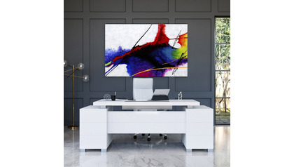 "Shifting Nebula Canvas Art - 80"" x 50"""