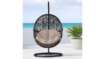 Shore Swing Chair - Black
