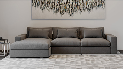 Soriano Sectional - Gray