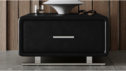 Vetro Accent Table - Black