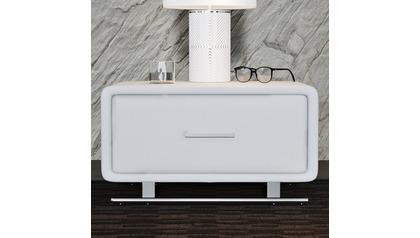 Vetro Accent Table - White
