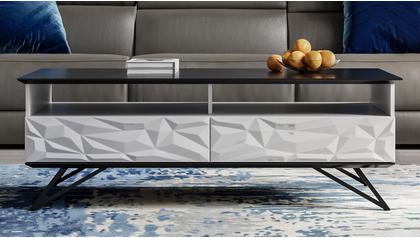 """Vortice 55"""" Coffee Table"""