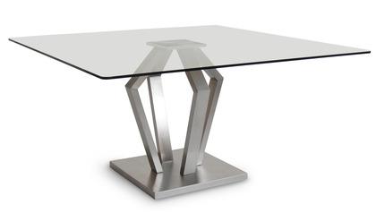 Aiden 51 Inch Square Dining Table
