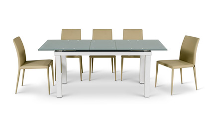 Alanzo Dining Set - 6 Chairs