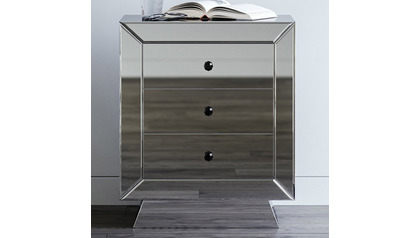 Azul Mirrored Accent Table