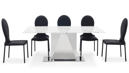 Bianco Dining Table Set with Chairs