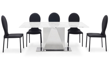 Bianco Dining Set - 6 Chairs