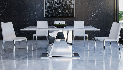 "Bianco 71"" Dining Table"