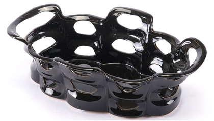 Black Bajo Tray Small