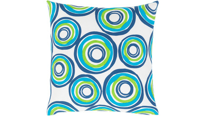 Miranda Circles Throw Pillow