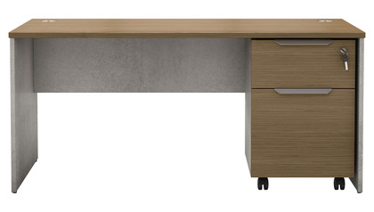 Brighton Desk with Mobile Filing Pedestal