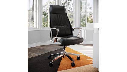 Burns Leather Executive Chair
