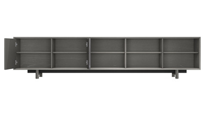 Cashel Media Cabinet - Gray