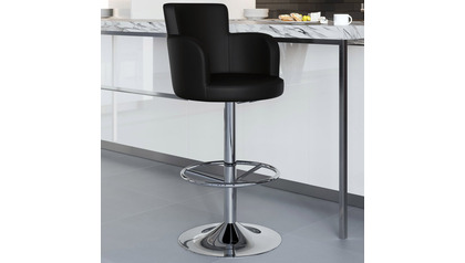 Black Chateau Bar Stool