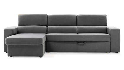 Clubber Sleeper Sectional - Gray