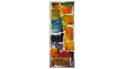 "Colorful Blocks Canvas Art I - 70"" x 27"""