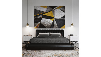 "Concrete Deco Canvas Art - 96"" x 70"""