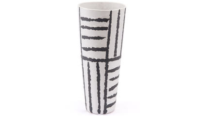 Croma Small Vase Black & White