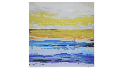 "Cyprus Sunrise Canvas Art - 50"" x 50"""