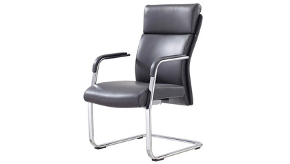 Draper Guest Chair - Black