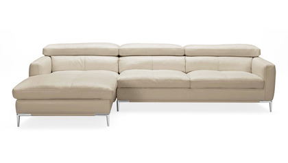 Eden Sectional with Ottoman - Beige