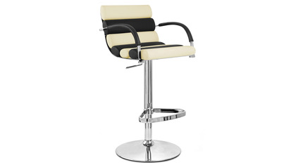 Black and Cream Ego Bar Stool