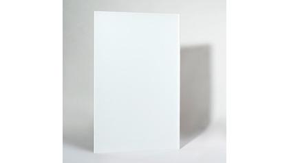Ember Glass White Radiant Heating Panel