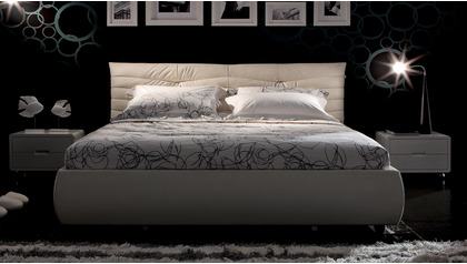Everest Leather Bed