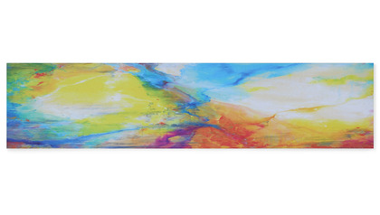 "Festival of Light II Canvas Art - 60"" x 14"""