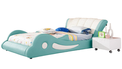 Flipper Kids Leather Bed