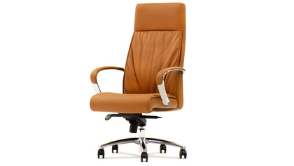 Forbes Leather Executive Chair - Tan