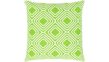 Miranda Squares Throw Pillow