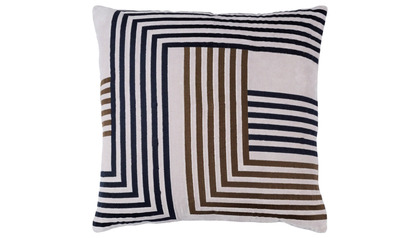 Intermezzo Throw Pillow with Down Insert