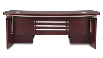 Harrison Desk with Return - Mahogany