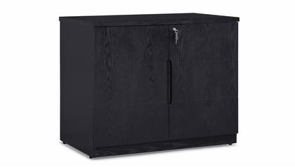 Hayes Cabinet Small - Black Oak
