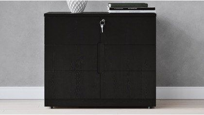Hayes Cabinet Small - Black