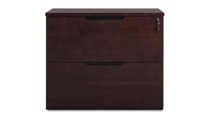 Hayes Lateral filing Cabinet - Dark Walnut