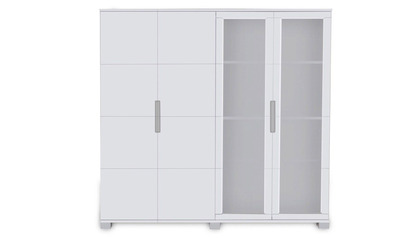 Hayes Storage Unit - White