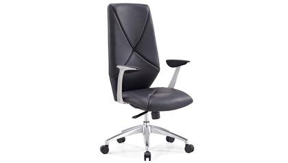 Hearst Leather Executive Chair-Black