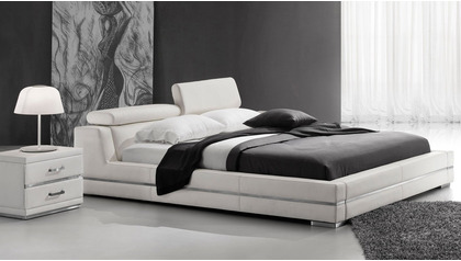 Hera Leather Bed