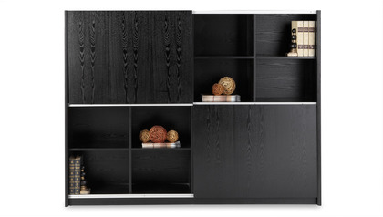 Jackson Bookcase - Black